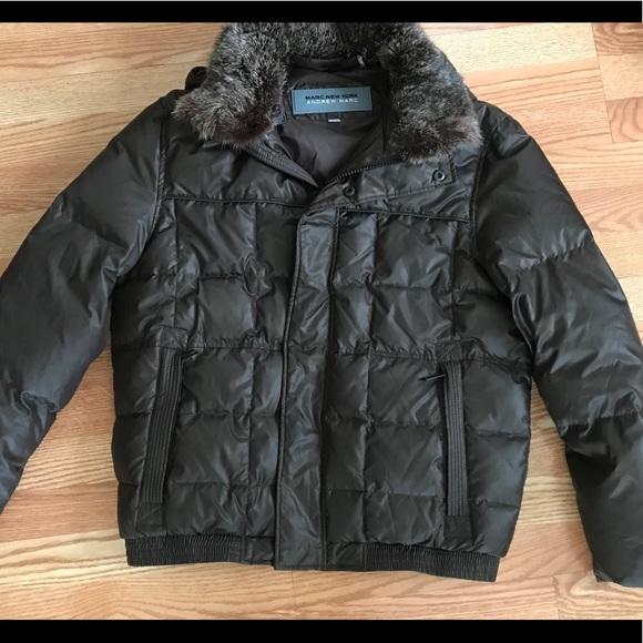 8f828d92e Andrew Marc Jackets & Coats   Mens Down Puffer Jacket Bomber Rabbit ...